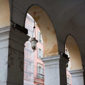 Lamp in an Arch