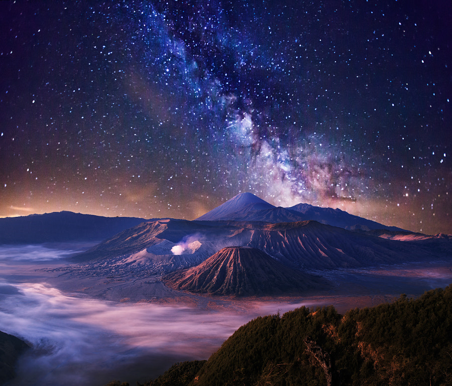 Photograph Dreamy Bromo by ?lhan Eroglu on 500px