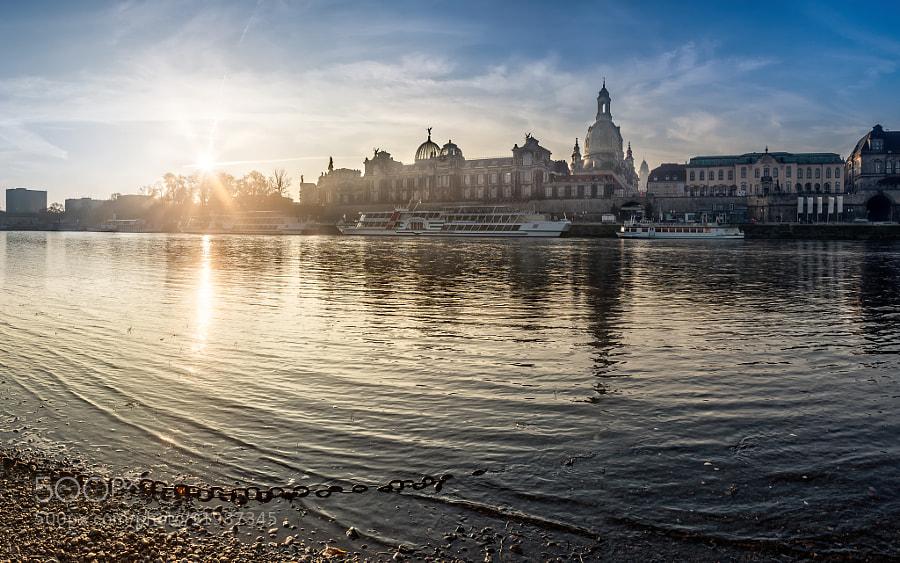 Sunrise above Dresden