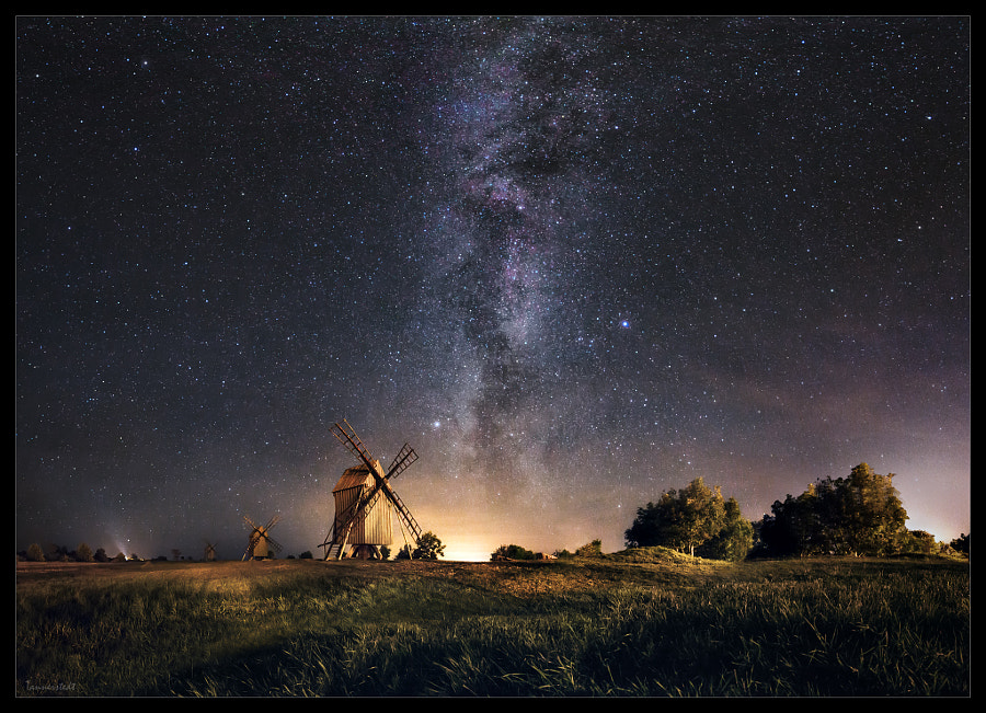 Galaxy rising by Jörgen Tannerstedt on 500px.com