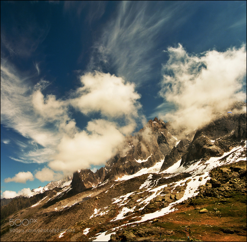 Photograph Mont Blanc range 05 by Katarina Stefanović on 500px