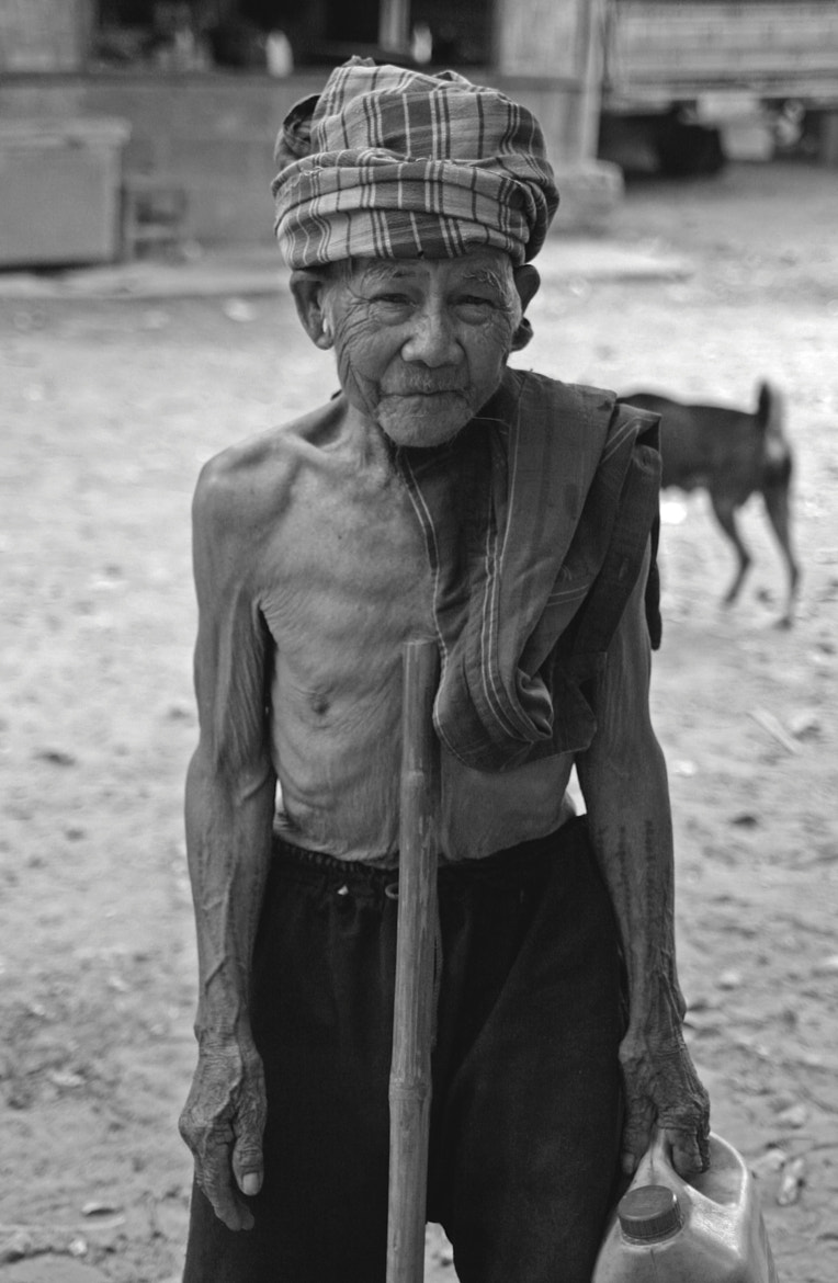 Photograph Old Man of Laos by Stephen Fletcher on 500px