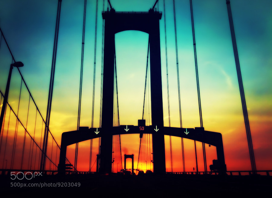 Photograph Sunset Drive by tourmania on 500px