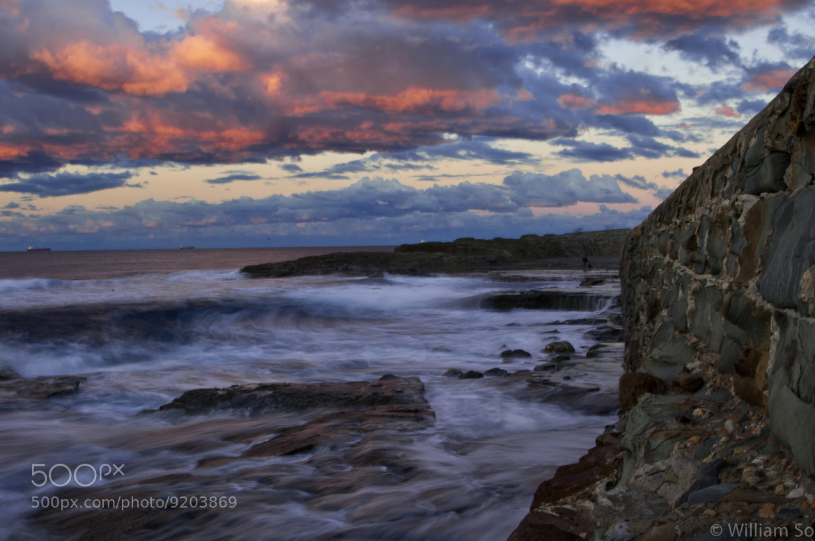 Photograph Sunset waves by Will So on 500px