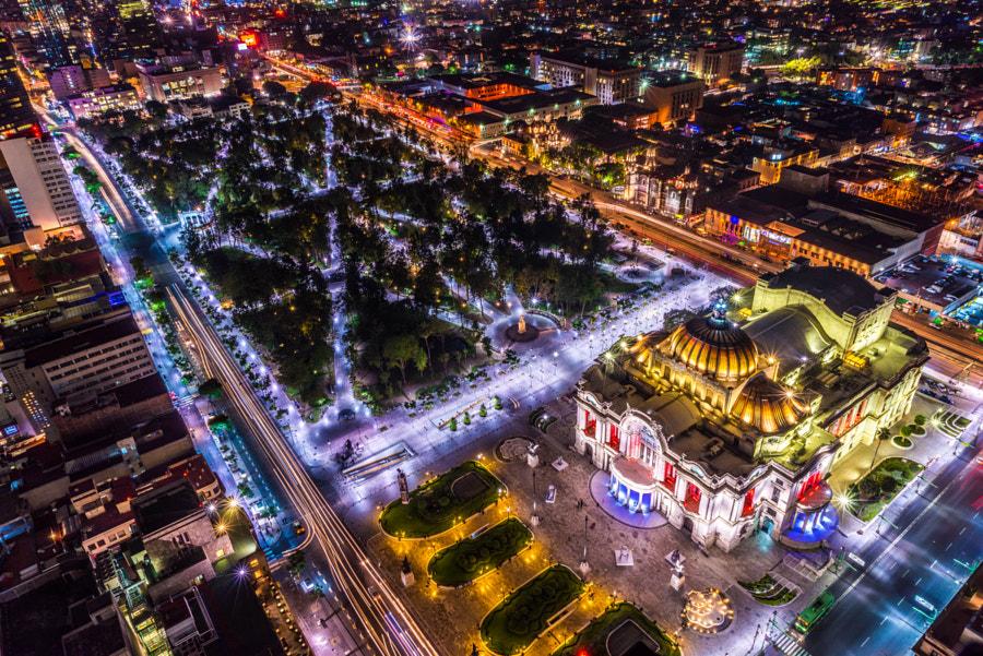 Palacio Bella Artes Mexico City