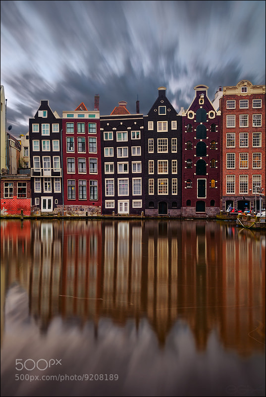 Photograph Amsterdam : curves houses by EGRA : ЕГРА on 500px