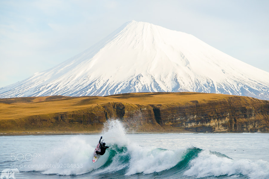 Photograph Alex Gray on an Alaska Section by Chris  Burkard on 500px