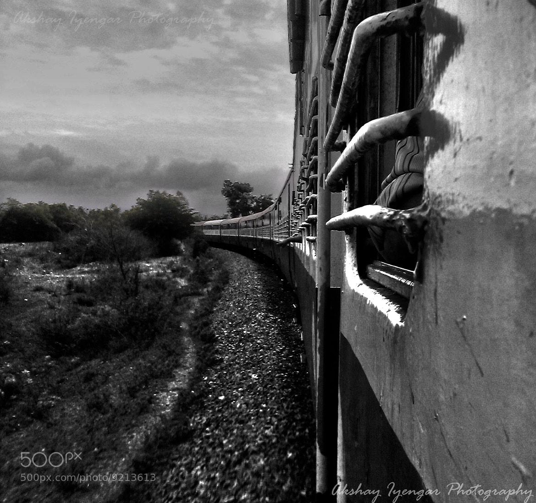 Photograph Train Journey by Akshay Iyengar on 500px