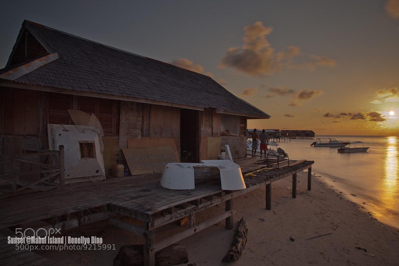 Photograph Sunset @Mabul Island by Ibnu ArT on 500px