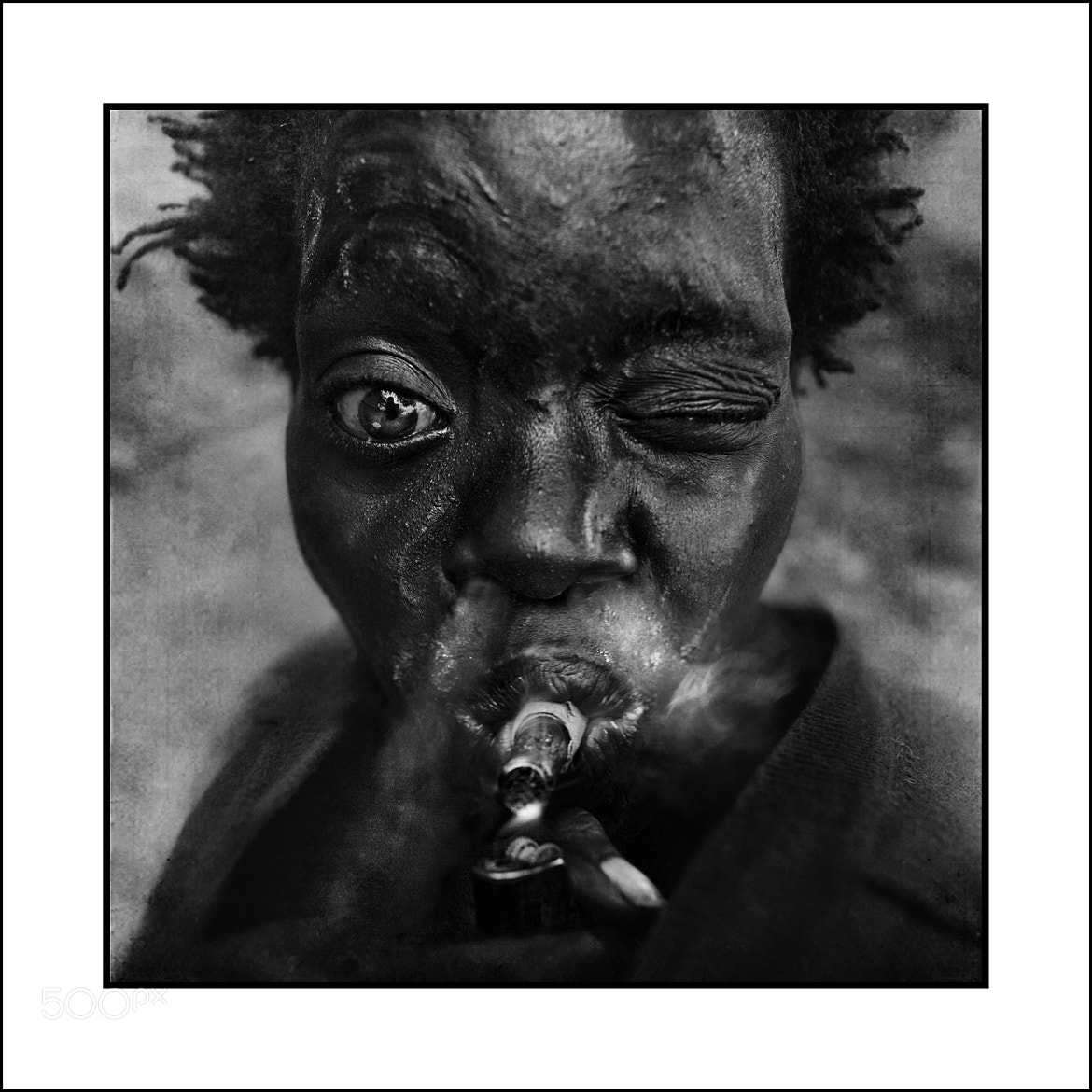 Photograph http://uk.virginmoneygiving.com/Centrepoint  by Lee Jeffries on 500px