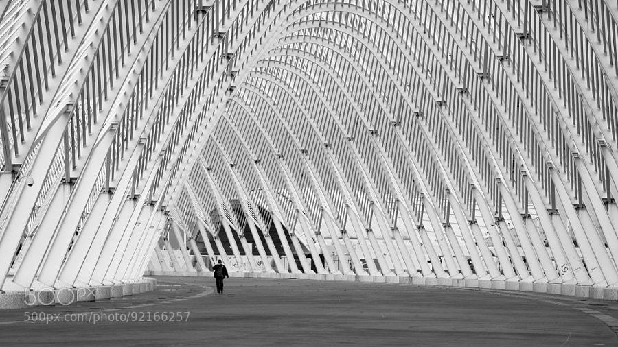 Athens architecture by Santiago Calatrava