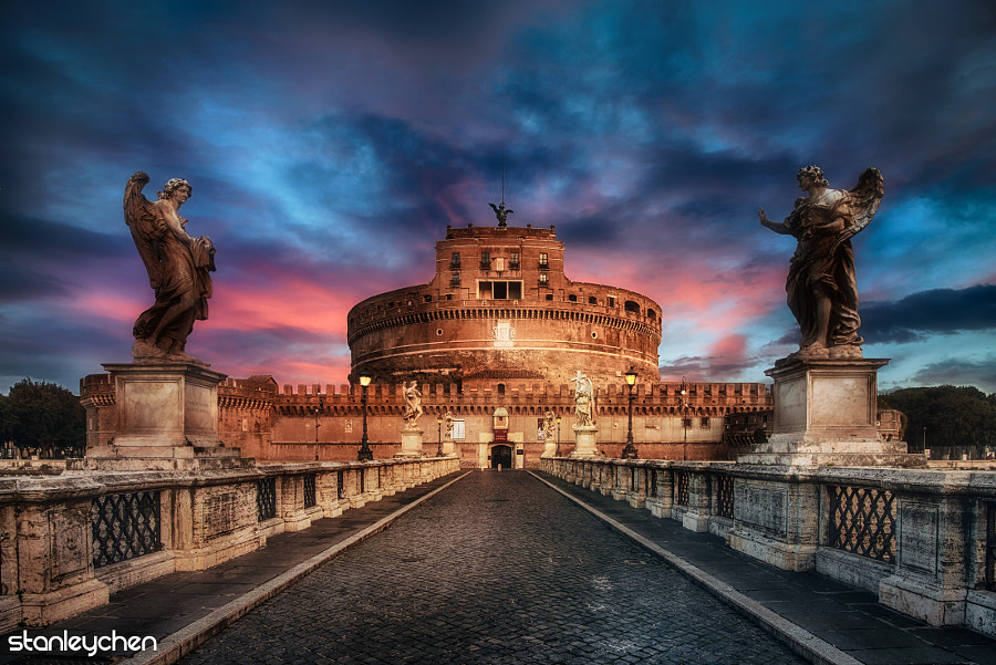 Photograph Rome, Road to Royal. by Stanley Chen Xi on 500px