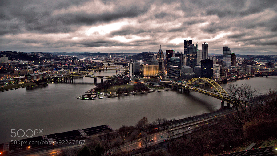 Pittsburgh, Skyline by Guðmundur Kári Stefánsson on 500px