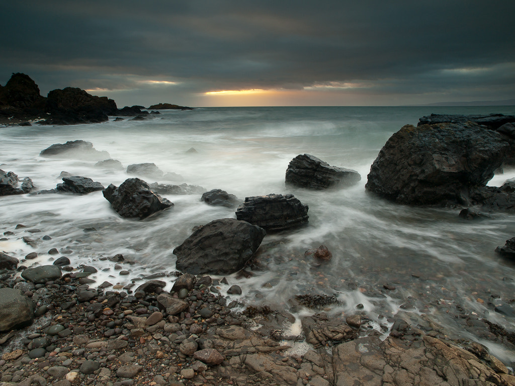 Photograph Fading Light, Dunure by Keith Muir on 500px