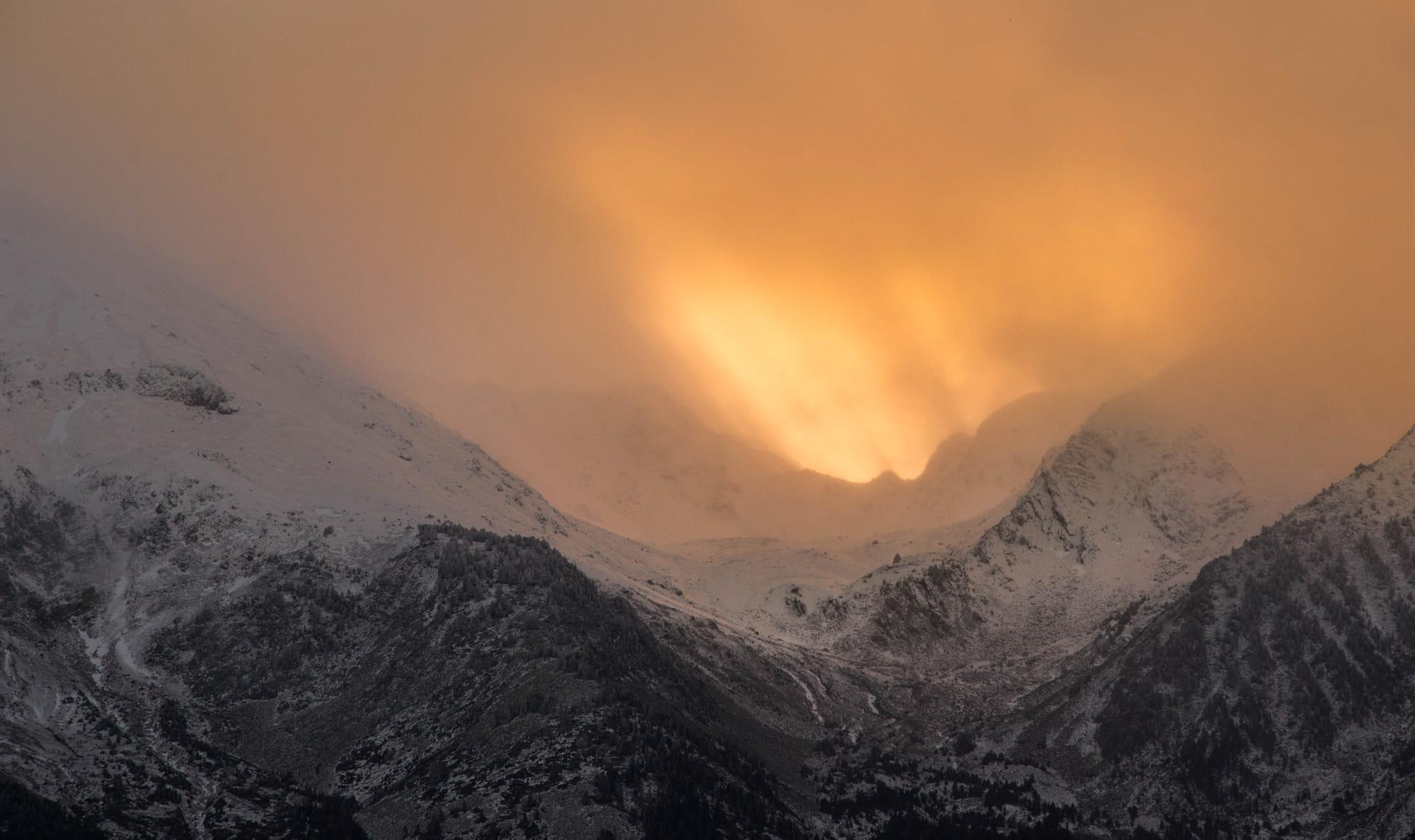 Sunset Burning