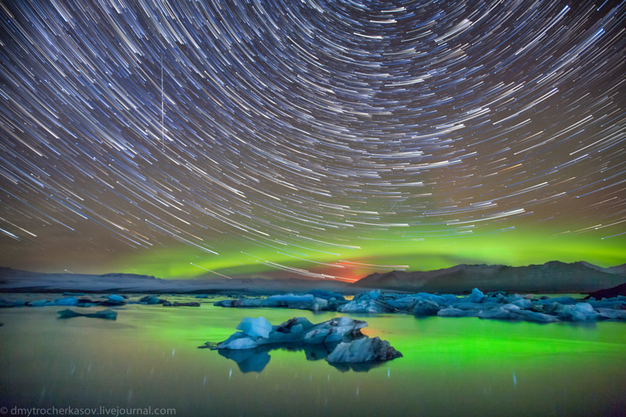 Iceland Star Trails