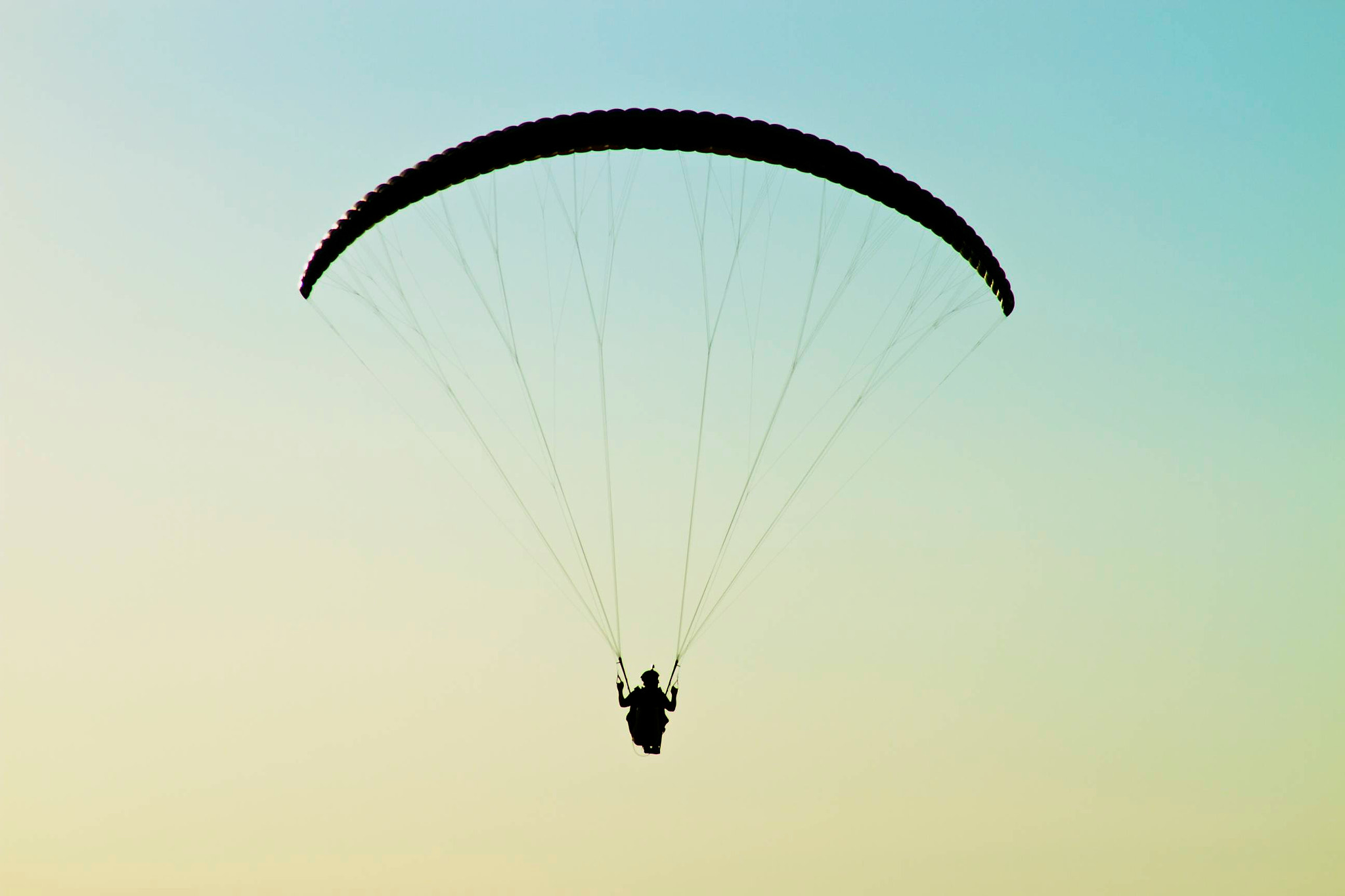 Photograph Paraglider by Rob Sentz on 500px