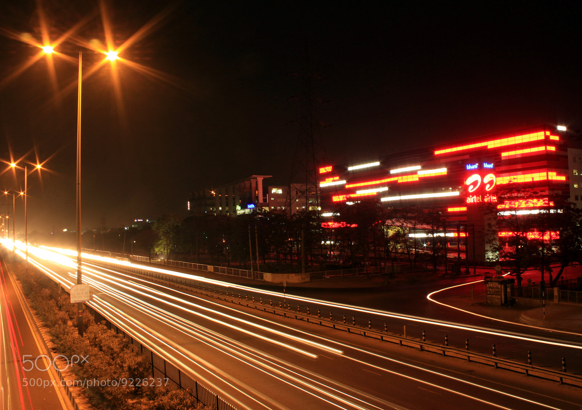 Photograph Gurgaon @Night by Ashwani Sindhu on 500px