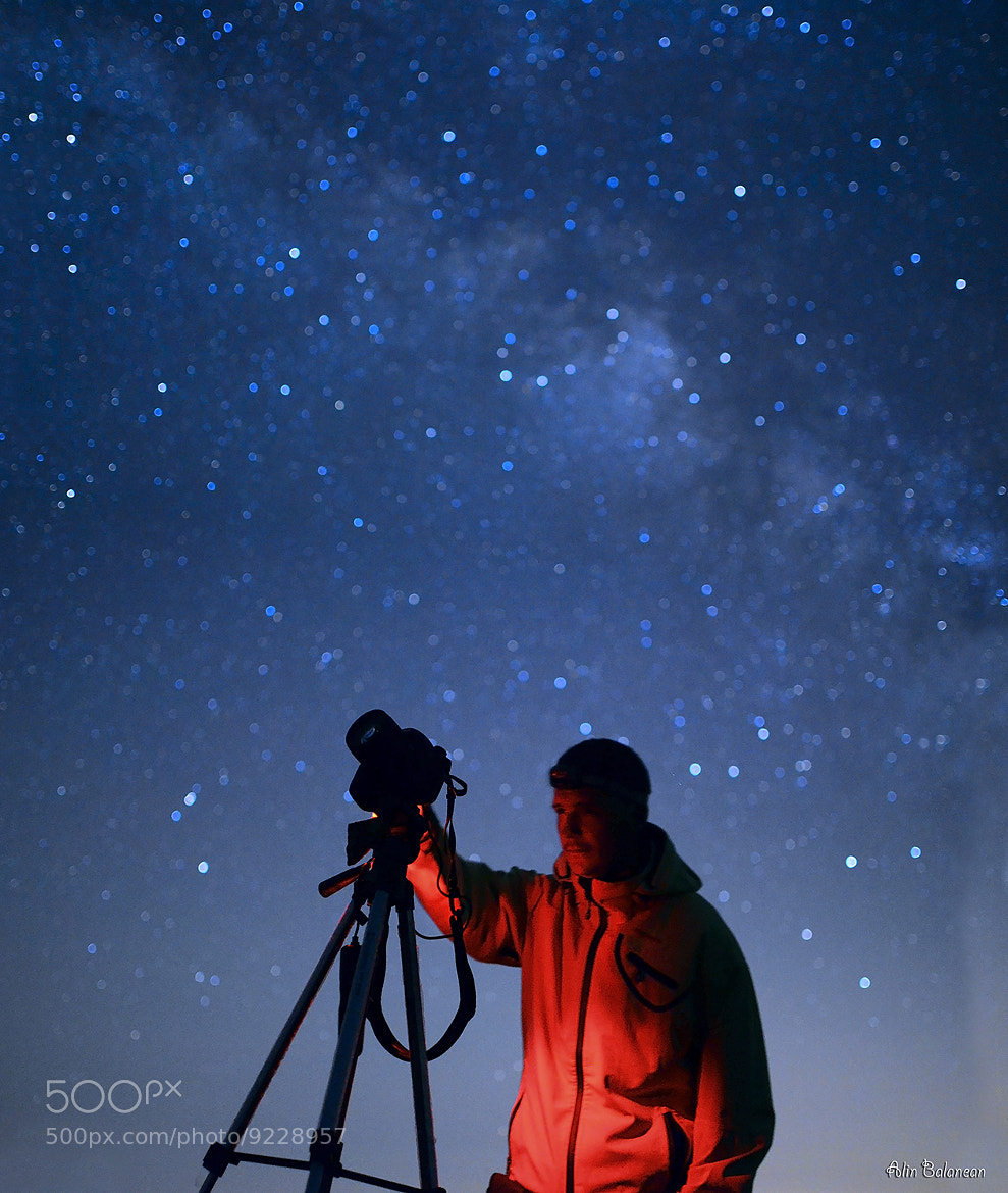 Photograph Shooting stars by Alin Balanean on 500px