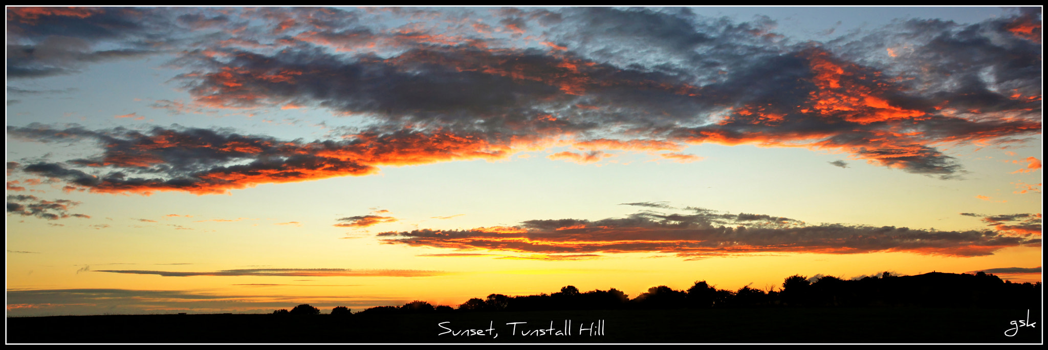 Photograph Sunset, Tunstall hill, Sunderland by Karthik Gellia on 500px