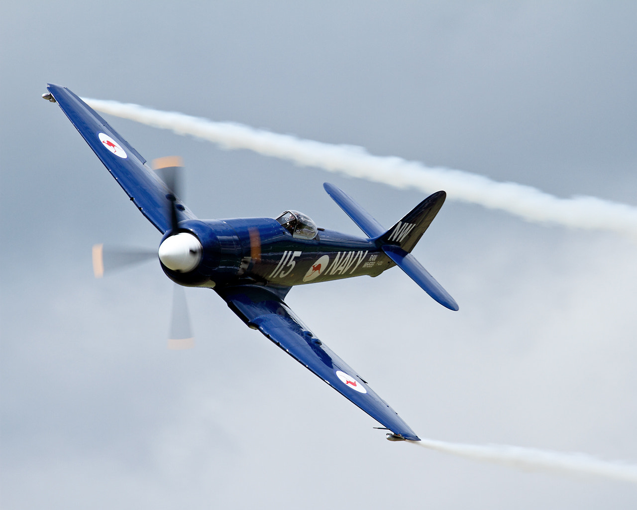 Photograph Seafury @ Duxford Legends by John Hill on 500px