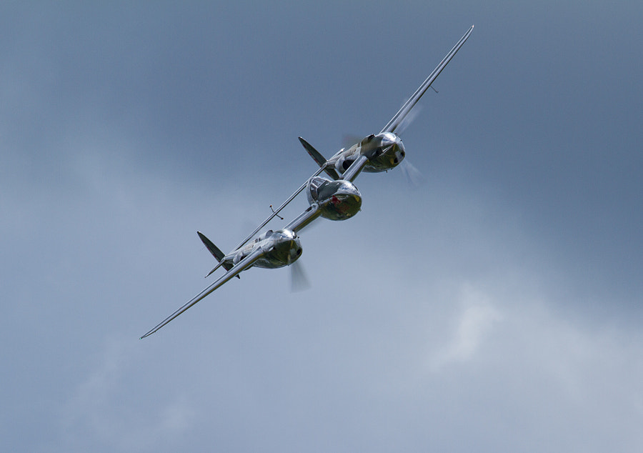 P-38 Lightning @ Duxford Legends