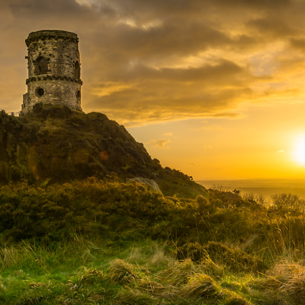 Mow Cop Castle (sunset)