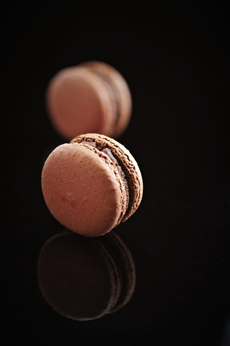 Photograph Chocolate Macaron I by Bowie Cheong on 500px