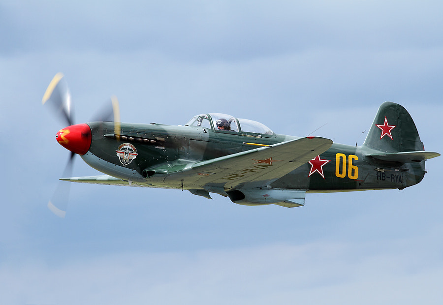 Yak-3 @ Duxford Legends 2012