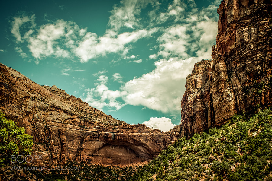 Photograph The borning of an arch by Sergio Fragua on 500px