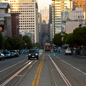San Fran as the sun goes down by Clive Hollingshead (CliveHollingshead) on 500px.com