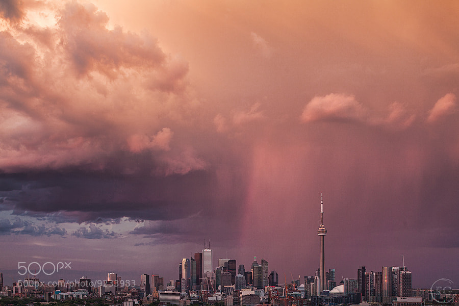 Storm @ Sunset by Richard Gottardo (RichardGottardo) on 500px.com
