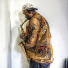 sax in the corner