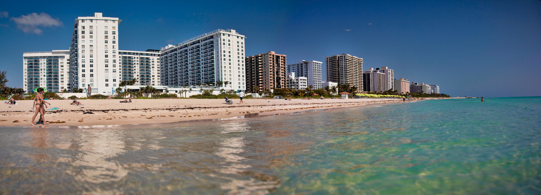 Photograph Miami Beach Pano by Mauricio Lima on 500px