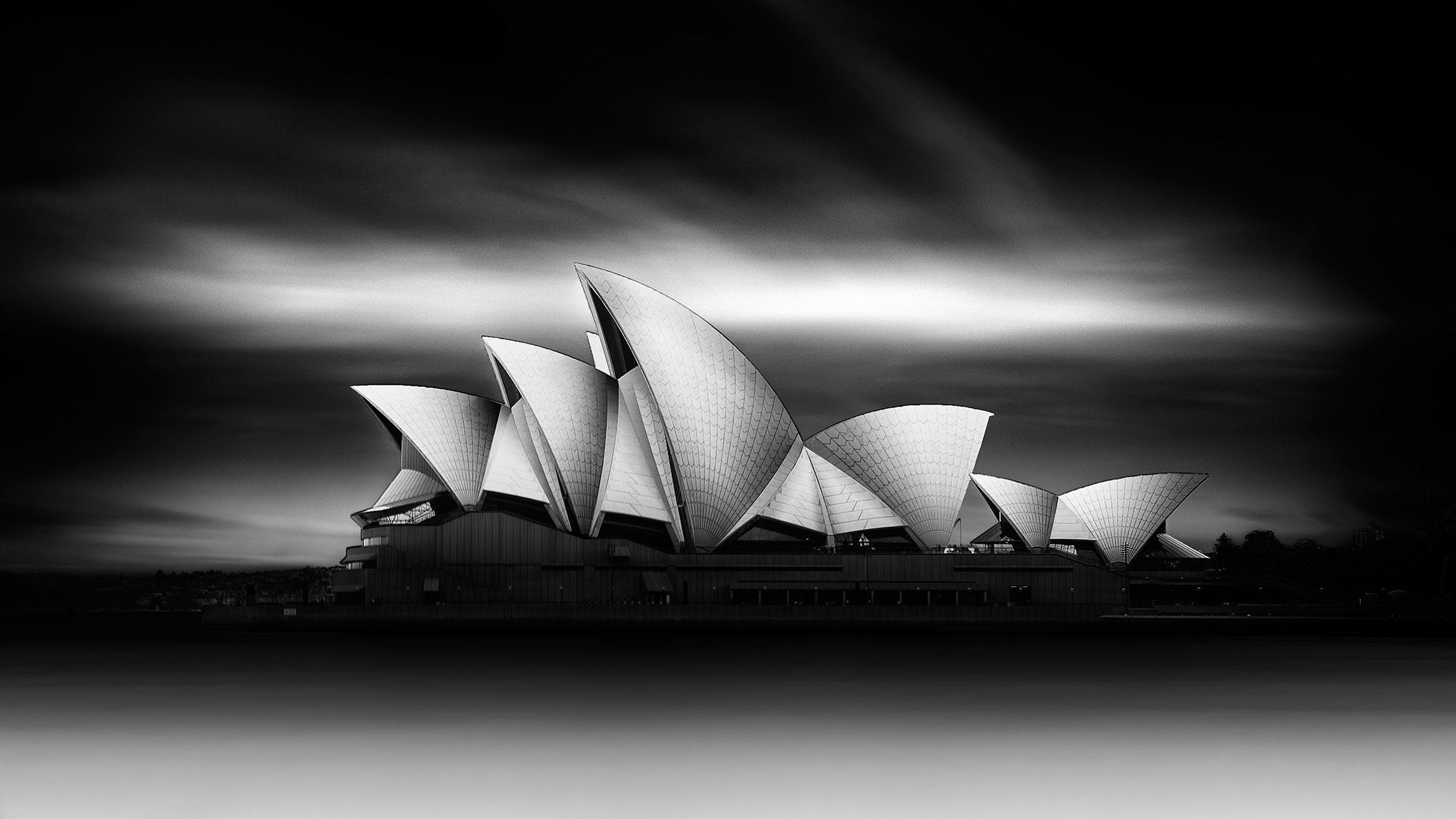 b0a12b4112711b315d977e3d983e6ca1 - Download Black And White Photo Of Sydney Opera House  Pictures