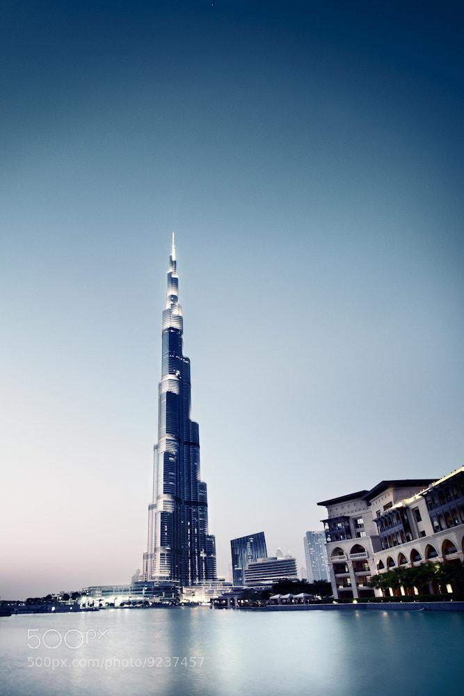 Photograph Burj Khalifa - Dubai U.A.E 2011 by Ronny Ritschel on 500px