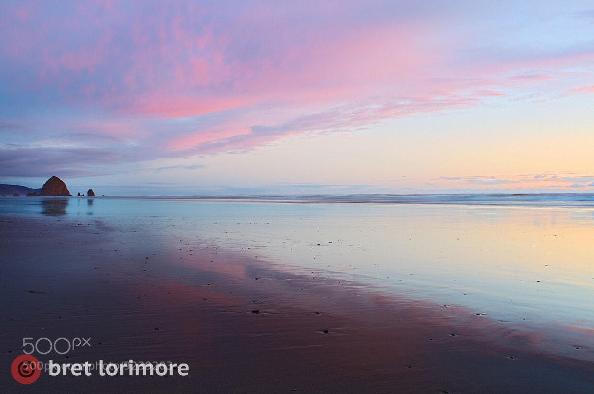 Photograph Canon Beach Sunset by Bret Lorimore on 500px