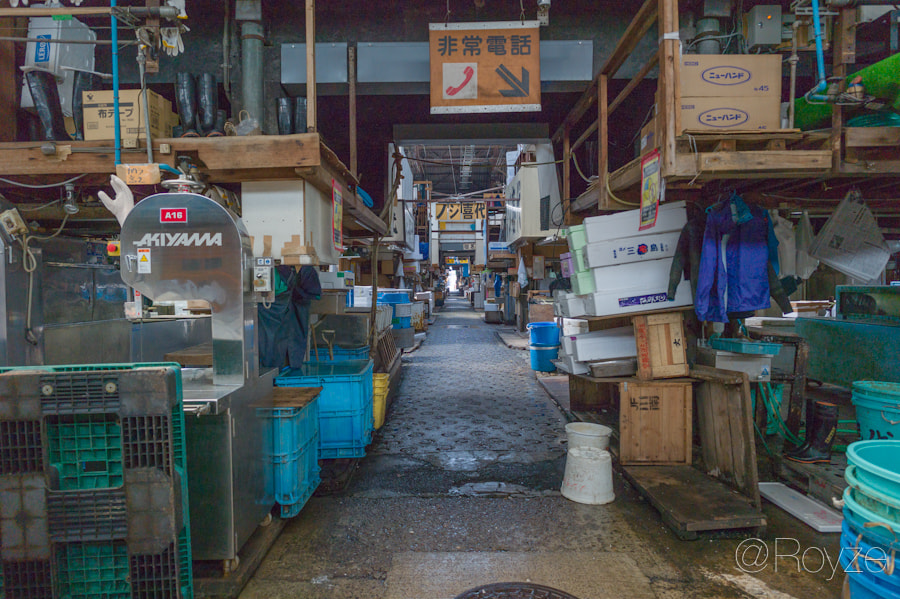 Photograph Tsukiji: After hours - Book cover by Royze   on 500px