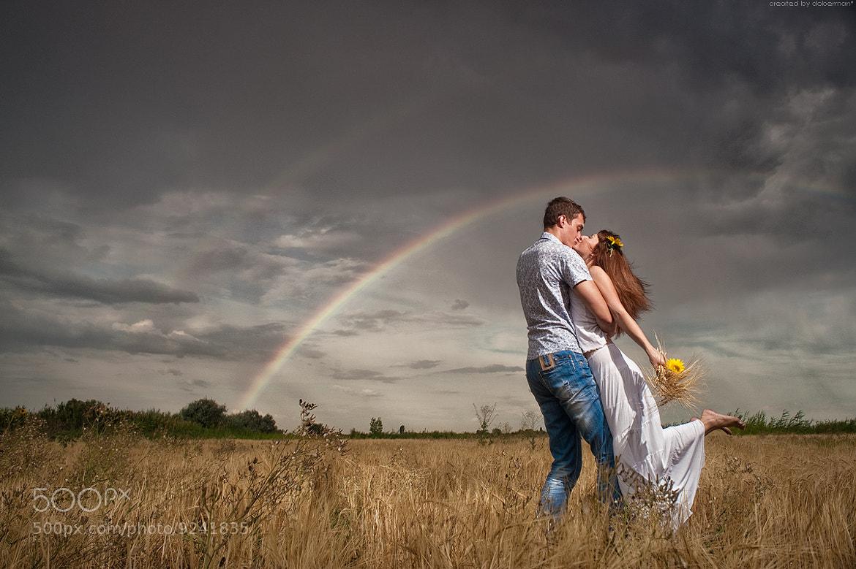 Photograph rainbow&love by Denis Bogomolov on 500px
