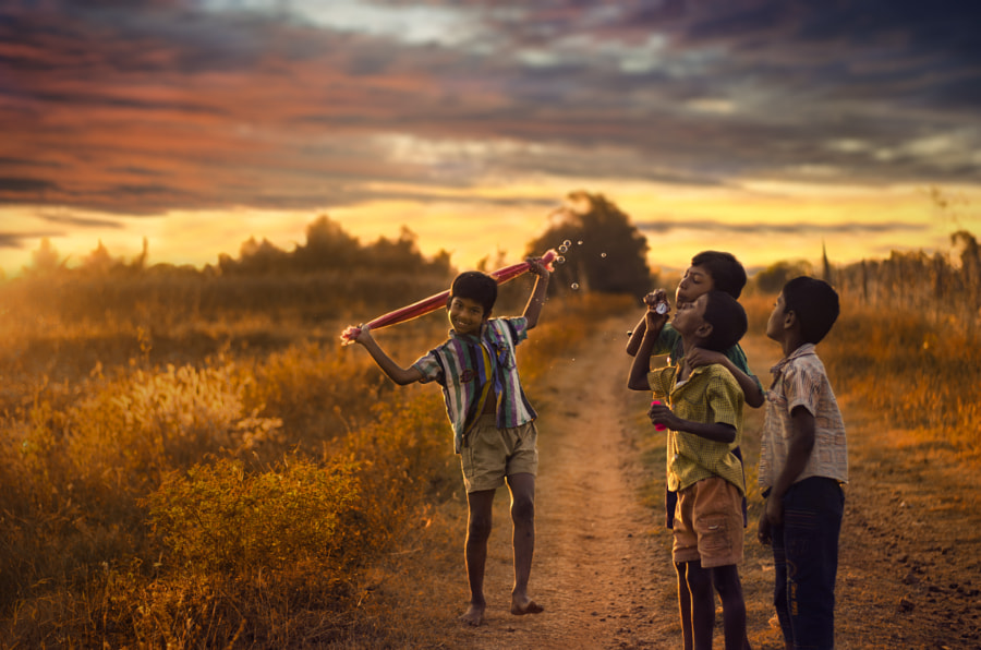 Happy Life by Gajendra Kumar on 500px.com