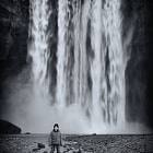 The mighty Oliver Andreas Jones in front of a little waterfall.  Join me on exciting, affordable photo tours in Iceland throughout 2015.  http://www.andreasjonesphotography.com/photography-tours.html