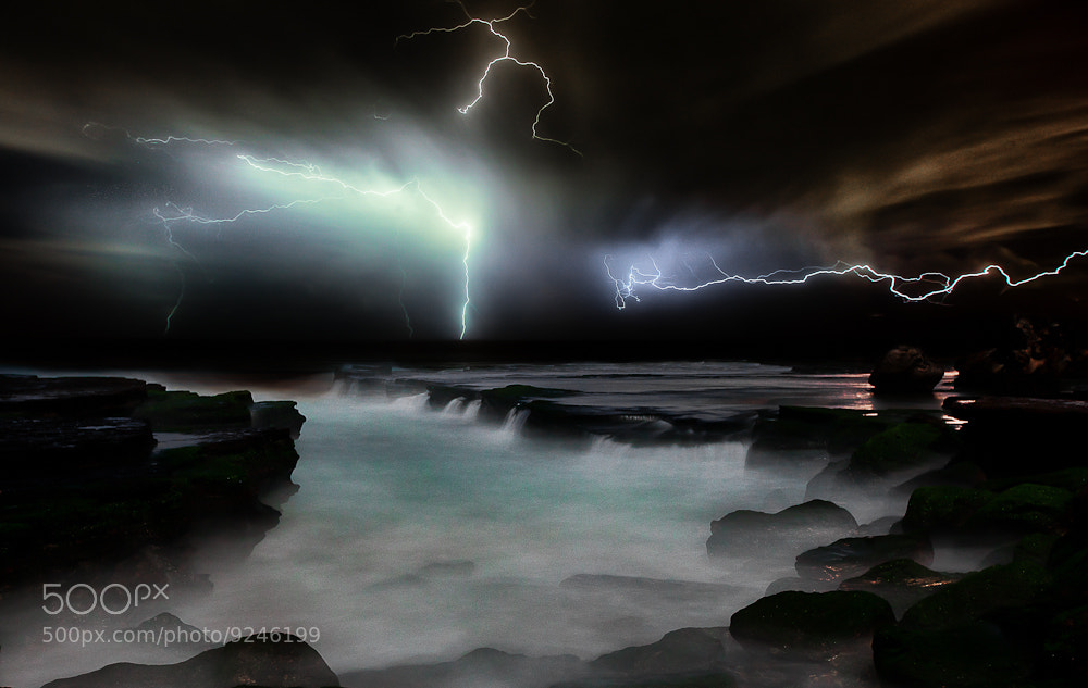 Photograph Storm Light II- Colour by Jimmy - on 500px