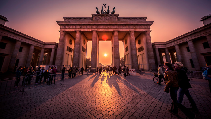 Photograph Brandenburg Gate by Chad Higgins on 500px