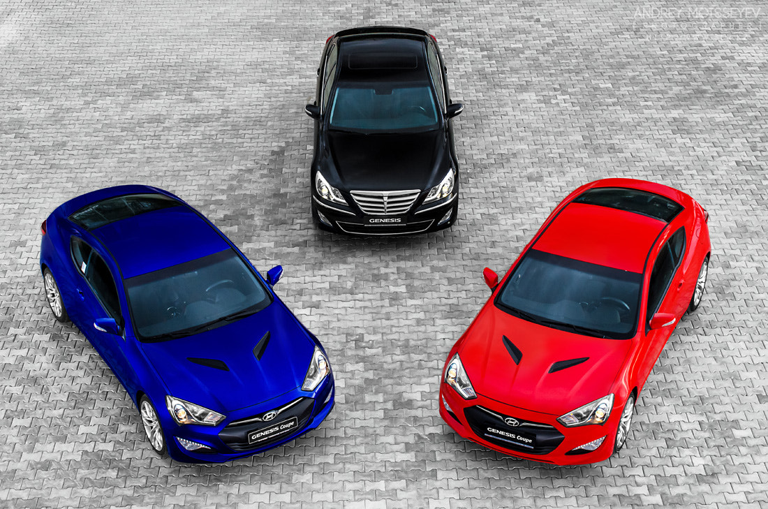Photograph Hyundai Genesis and Genesis Coupe 2012  by Andrey Moisseyev on 500px