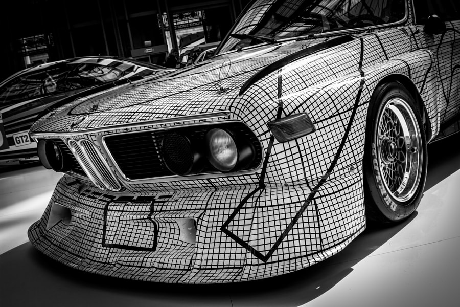BMW Art Car - Tour de France auto 2012