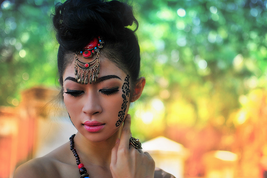 Photograph a face of Astari by erik susanto on 500px