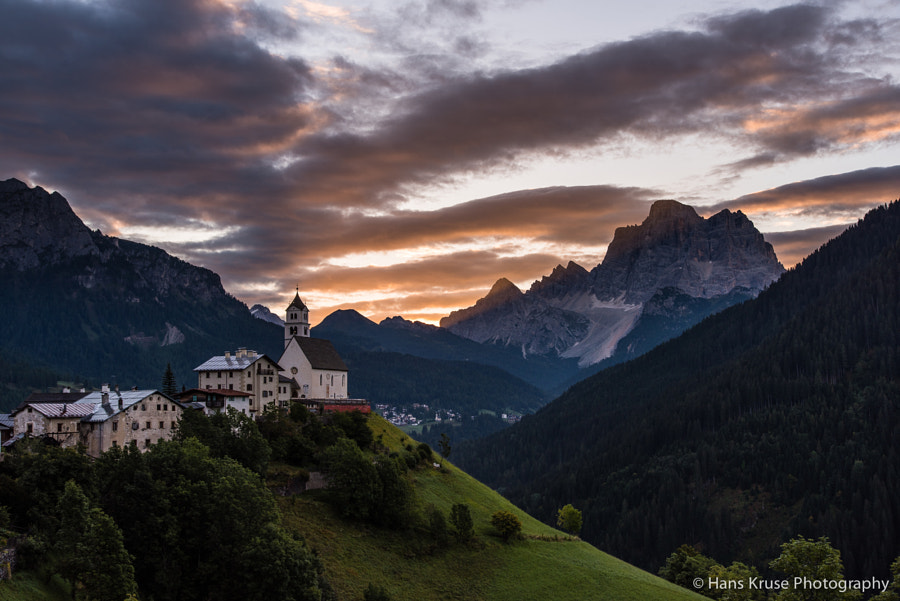 This photo was shot before the Dolomites East September 2014 photo workshop together with the first four participants.
