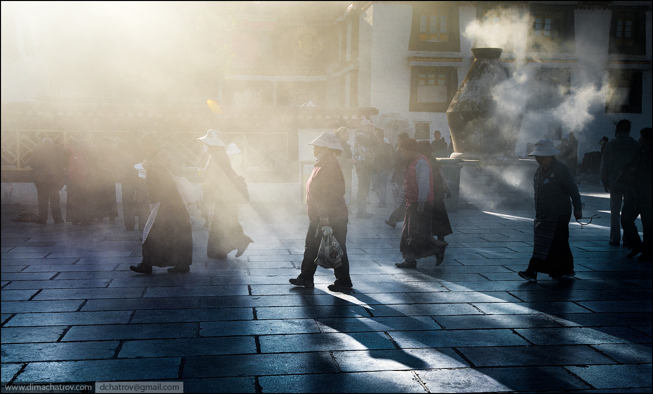 Photograph Tibetan pilgrims in Lhasa by Dima Chatrov on 500px