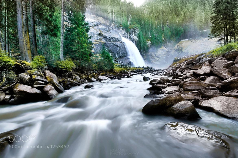 Photograph Krimmel Falls by Hussain Tarooti on 500px