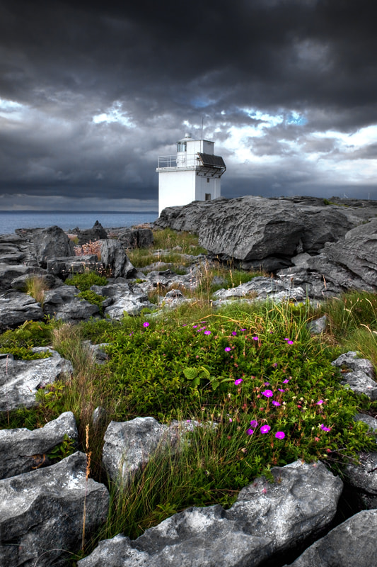 Photograph Lighthouse of Burren by Sebastien Papon on 500px